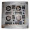 Tabla decorativa gris