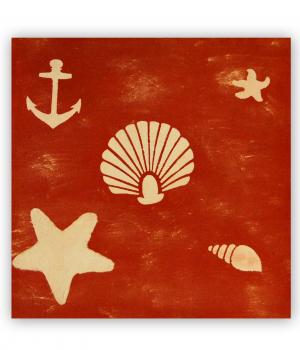 Tabla dibujos marinos