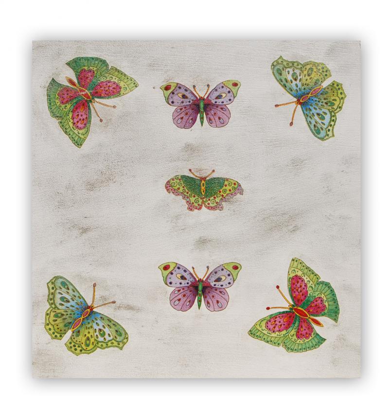 Tabla imprimación mariposas